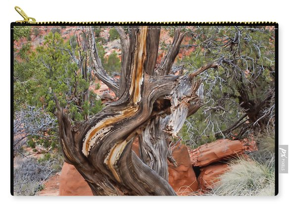 Decorative Dead Tree Carry-all Pouch