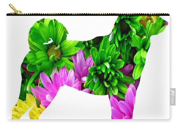 Decorative Husky Abstract O1015d Carry-all Pouch