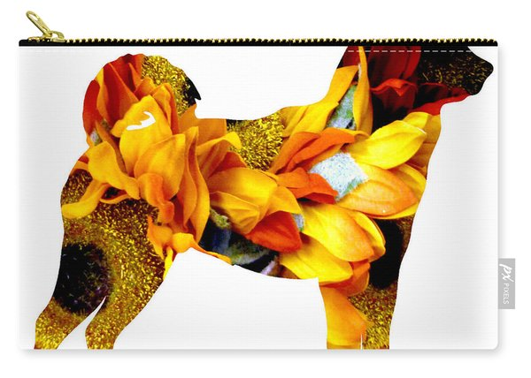 Decorative Husky Abstract O1015g Carry-all Pouch