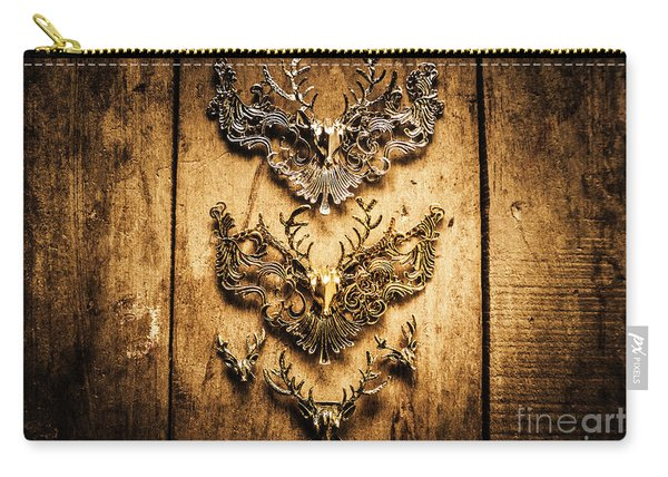Decorative Moose Emblems Carry-all Pouch