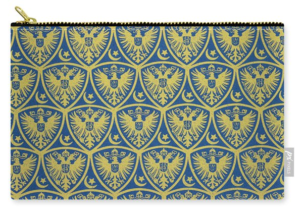 Decorative Pattern With The German Coat Of Arms Carry-all Pouch