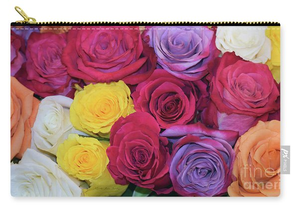 Decorative Wallart Brilliant Roses Photo B41217 Carry-all Pouch