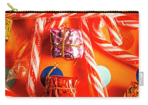 Decorative Xmas Carry-all Pouch