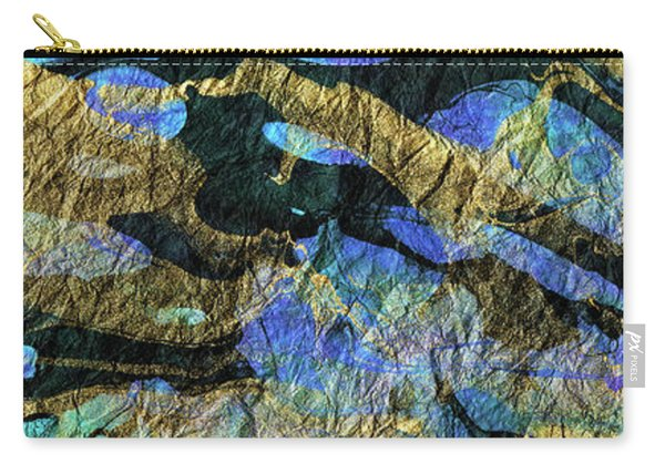 Deep Blue Abstract Art - Deeper Visions 1 - Sharon Cummings Carry-all Pouch