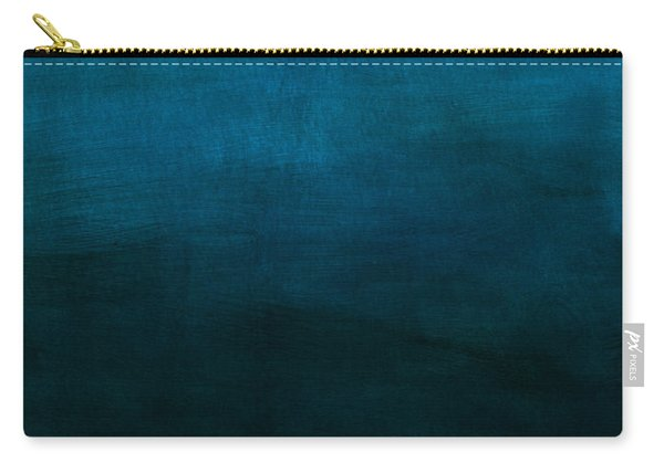 Deep Blue Mood- Abstract Art By Linda Woods Carry-all Pouch