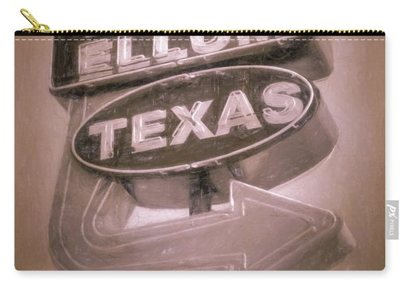 Deep Ellum Pink Carry-all Pouch