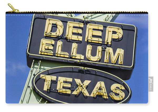 Deep Ellum Texas - #3 Carry-all Pouch