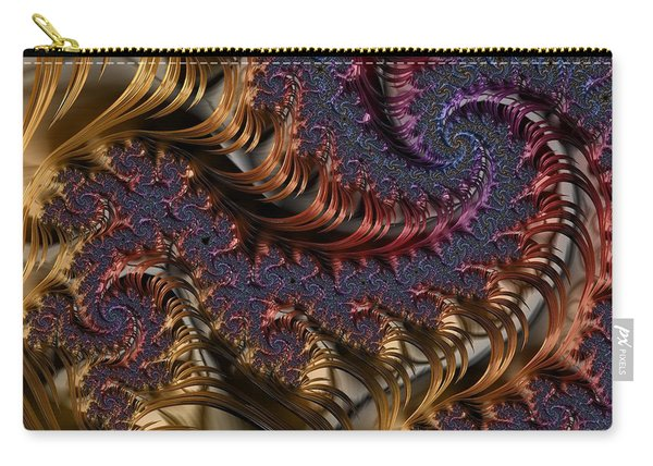 Deep In The Spirals Carry-all Pouch