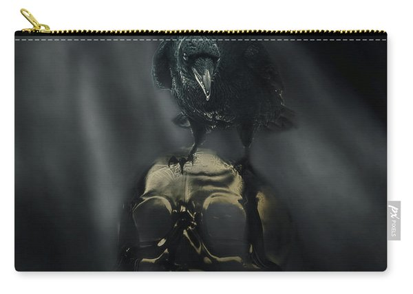 Deep Into That Darkness Peering Carry-all Pouch