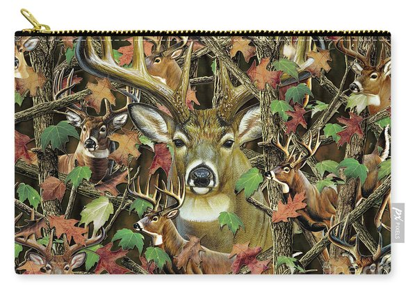 Deer Camo Carry-all Pouch