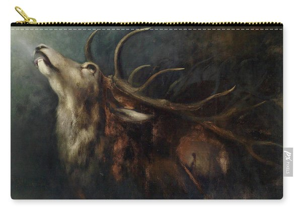 Dying Deer Carry-all Pouch