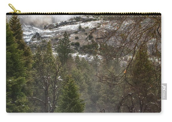 Deer Of Winter Carry-all Pouch