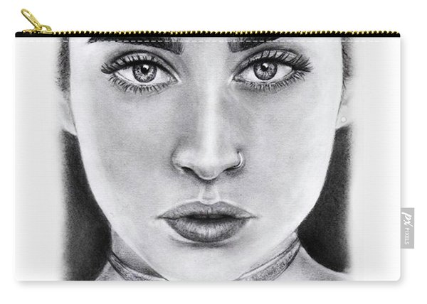 Lauren Jauregui Drawing By Sofia Furniel  Carry-all Pouch