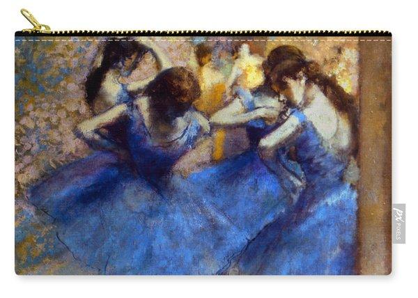 Degas: Blue Dancers, C1890 Carry-all Pouch