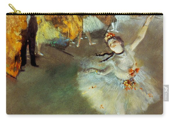 Degas Star, 1876-77. To License For Professional Use Visit Granger.com Carry-all Pouch