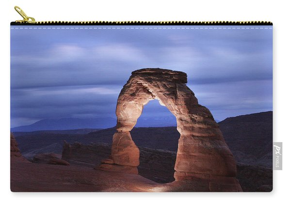Delicate Arch At Twilight Carry-all Pouch