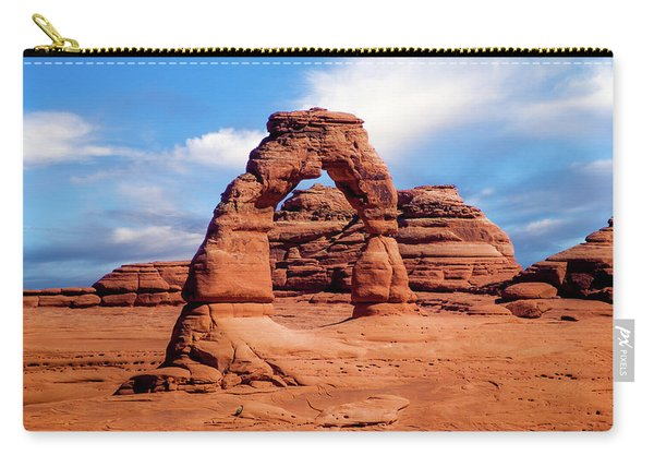 Delicate Arch From Lower Viewpoint Carry-all Pouch