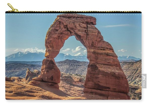 Delicate Arch In Early Morning Carry-all Pouch