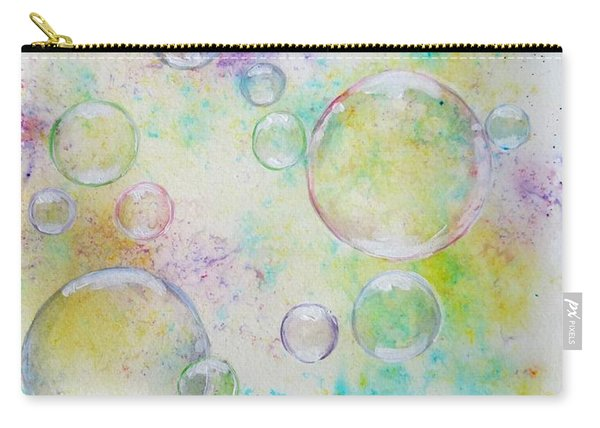 Delicate Bubbles Carry-all Pouch