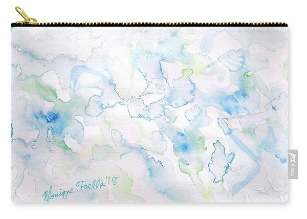 Delicate Elegance Carry-all Pouch