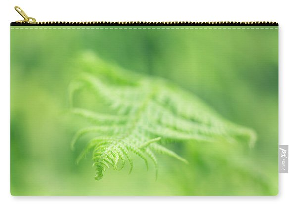 Delicate Fern - Hipster Photo Square Carry-all Pouch