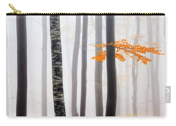 Delicate Forest Carry-all Pouch