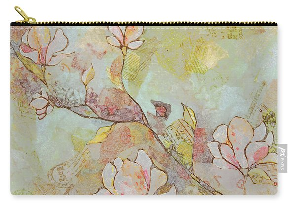 Delicate Magnolias Carry-all Pouch