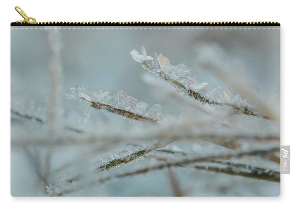 Delicate Morning Frost  Carry-all Pouch