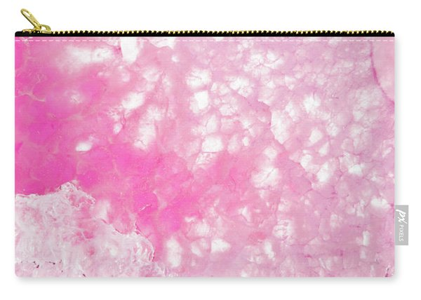 Delicate Pink Agate Carry-all Pouch
