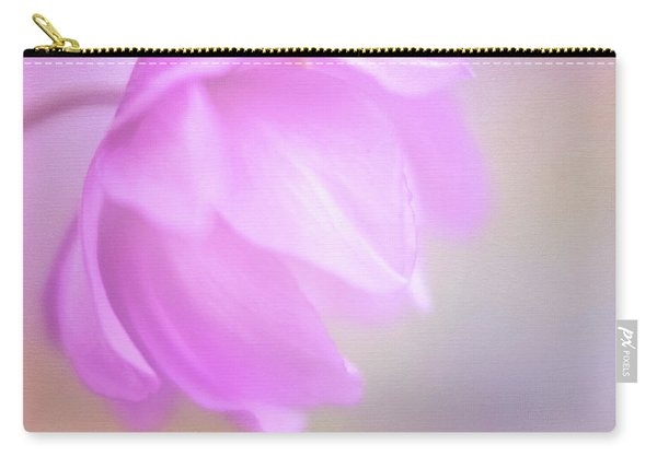Delicate Pink Anemone Carry-all Pouch