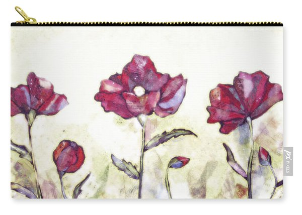 Delicate Poppy I Carry-all Pouch