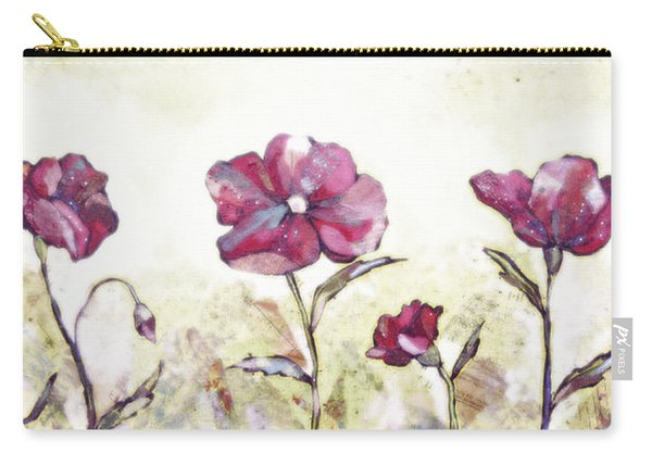 Delicate Poppy II Carry-all Pouch