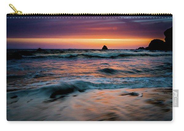 Demartin Beach Sunset Carry-all Pouch