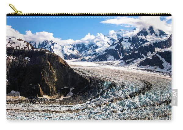 Carry-all Pouch featuring the photograph Denali by Benny Marty