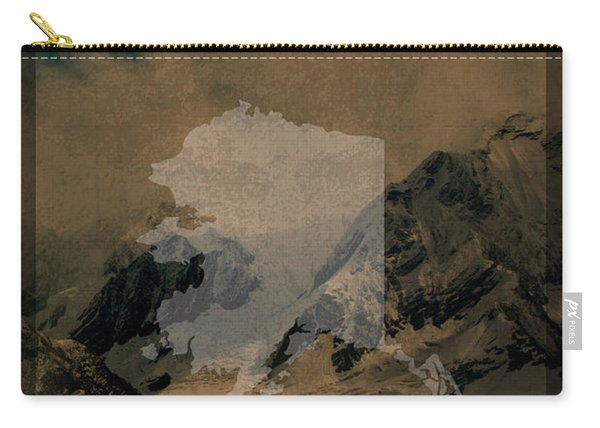 Denali National Park In Alaska Travel Poster Series Of National Parks Number 14 Carry-all Pouch