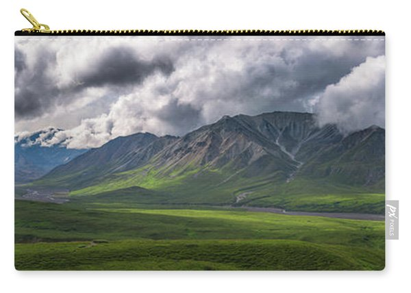 Denali National Park Pano  Carry-all Pouch