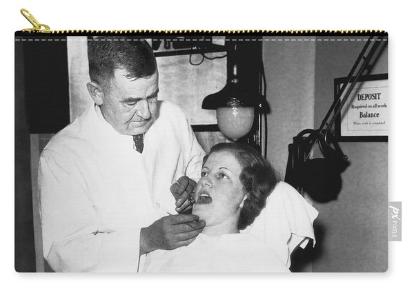 Dentist Has Cure For Pyorrhea Carry-all Pouch