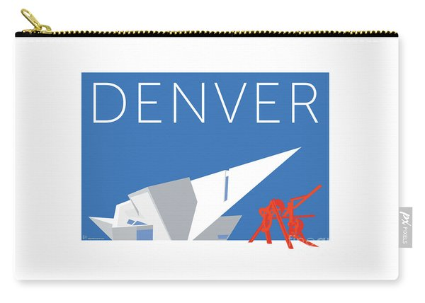Denver Art Museum/blue Carry-all Pouch