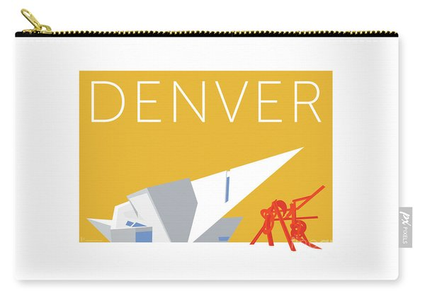 Denver Art Museum/gold Carry-all Pouch