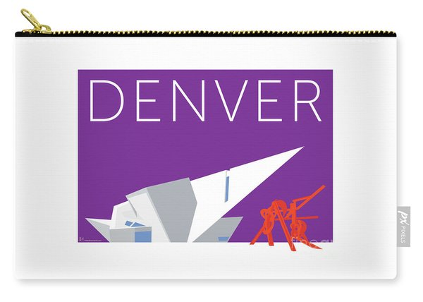 Denver Art Museum/purple Carry-all Pouch