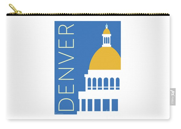 Denver Capitol/blue Carry-all Pouch