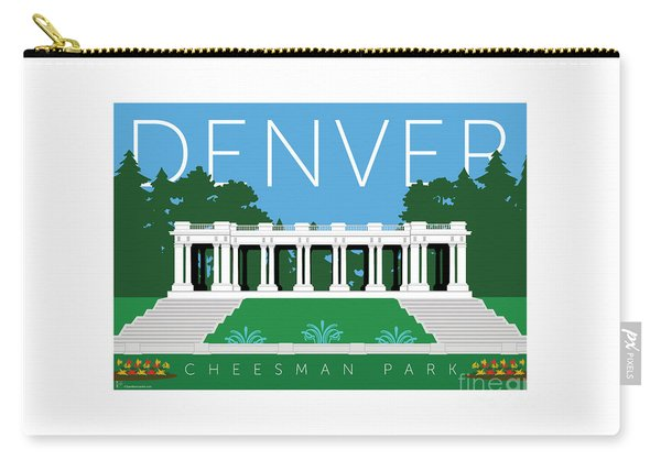 Denver Cheesman Park Carry-all Pouch