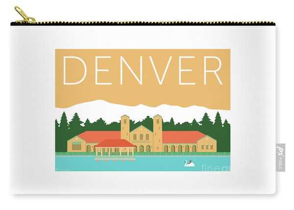 Denver City Park/adobe Carry-all Pouch