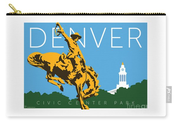 Denver Civic Center Park Carry-all Pouch