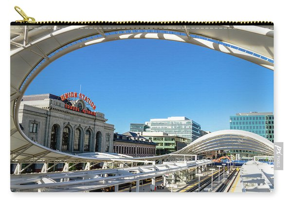 Denver Co Union Station Carry-all Pouch