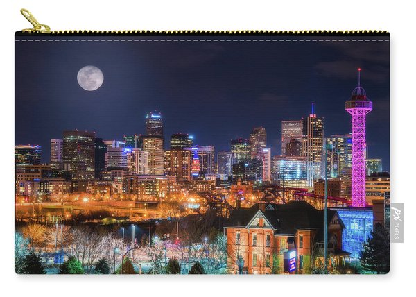 Denver Moon Carry-all Pouch