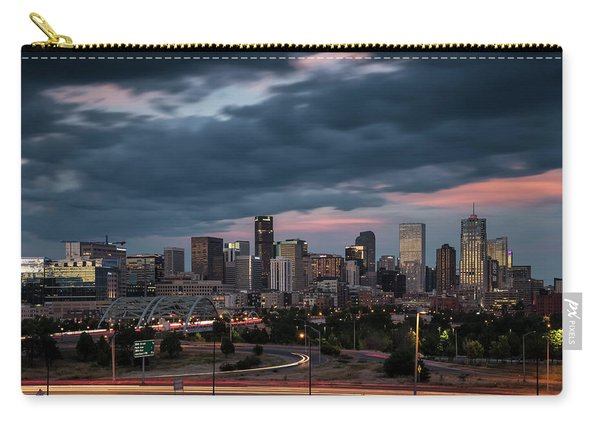 Denver Nights Carry-all Pouch