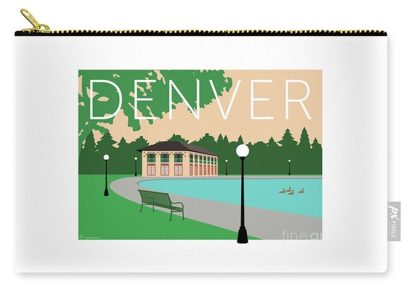 Denver Washington Park/beige Carry-all Pouch