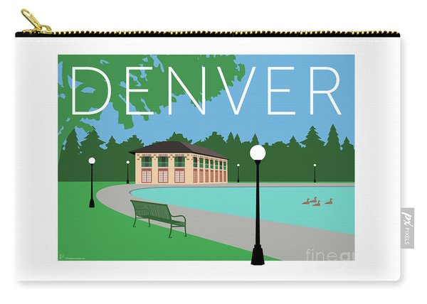 Denver Washington Park/blue Carry-all Pouch