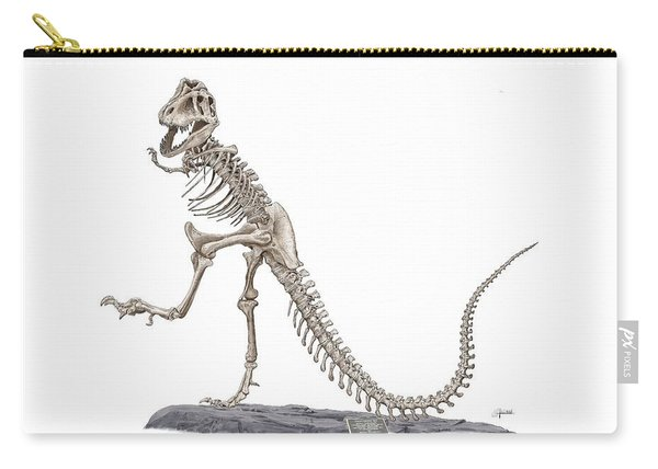 Denvers Dancing T Rex Carry-all Pouch